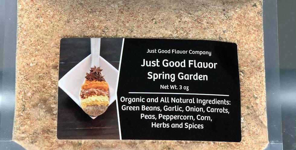 Just Good Flavor Spring Garden