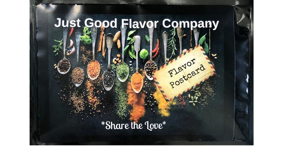 Just Good Flavor Postcard 3 pack