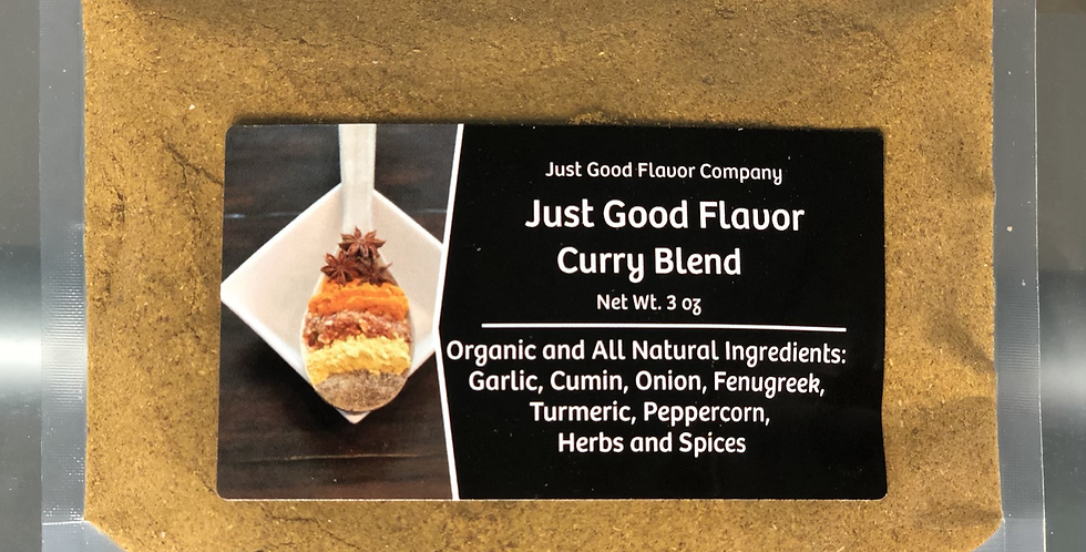 Just Good Flavor Curry Blend