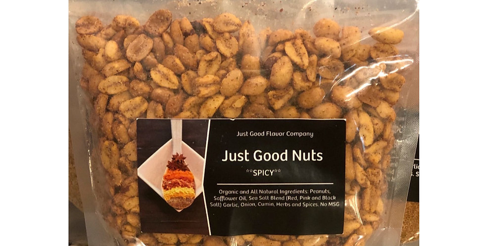 Just Good Nuts Spicy