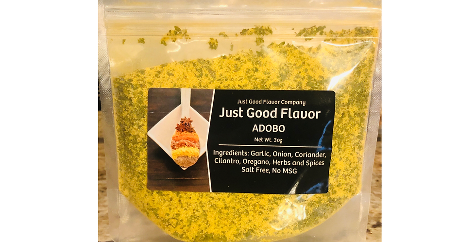 Just Good Flavor Adobo