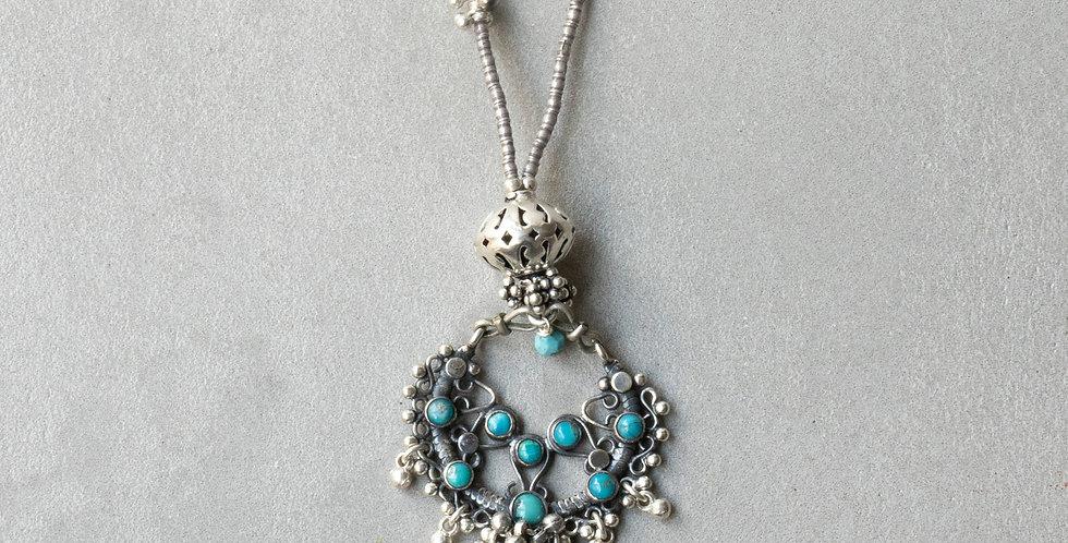 Minakusi Turquoise Necklace