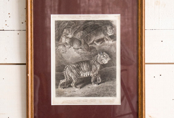 Lithograph with frame