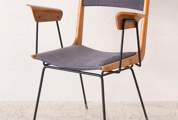 Boomerang desk chair