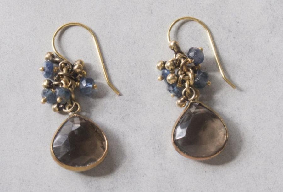 Pierced earring K18