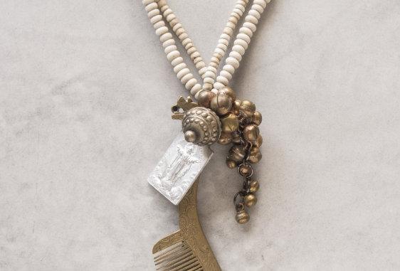 One-off Necklace by Minakusi×SIEBEN Collaboration