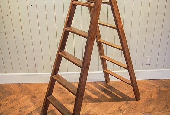 2way wooden ladder