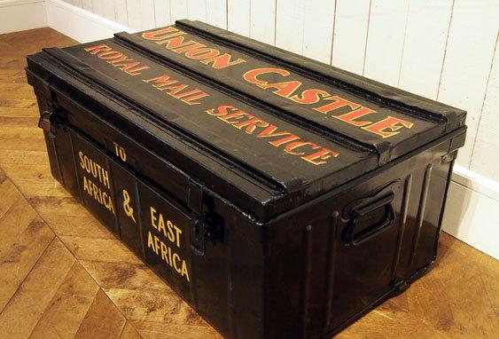 Black steel box