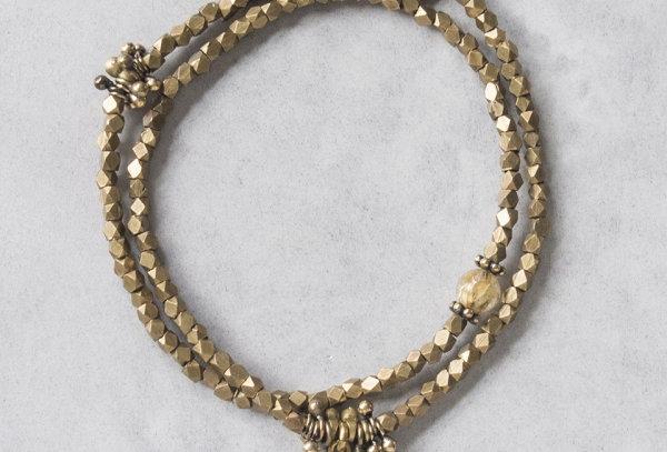 Minakusi_Smoky quartz bracelet