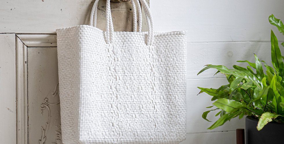 Mercado Bag【White S,Mサイズ】