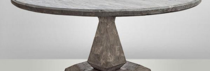 Column leg table