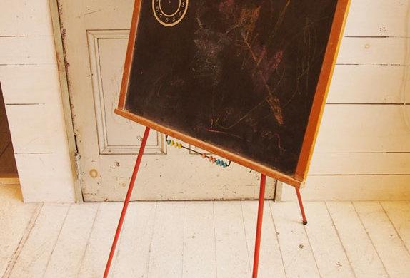 Black board stand