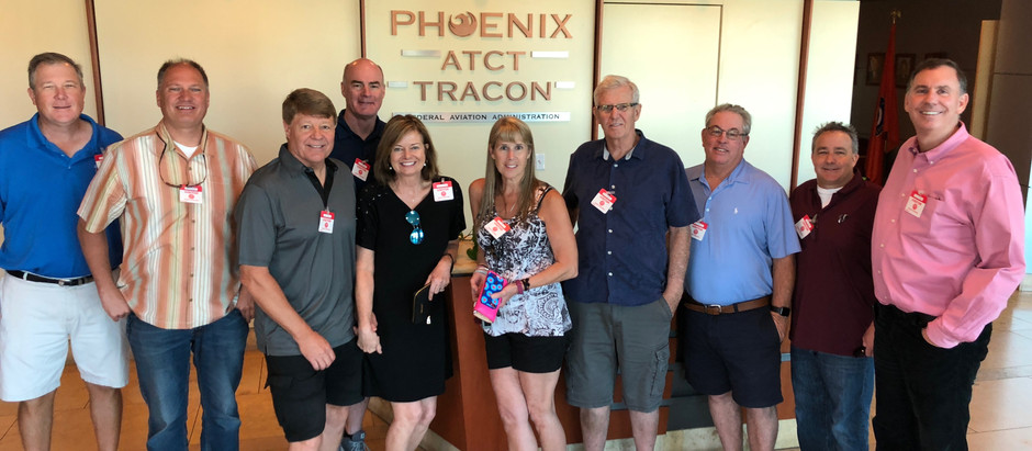 PHX Tower & Tracon Visit with Greg Cameron