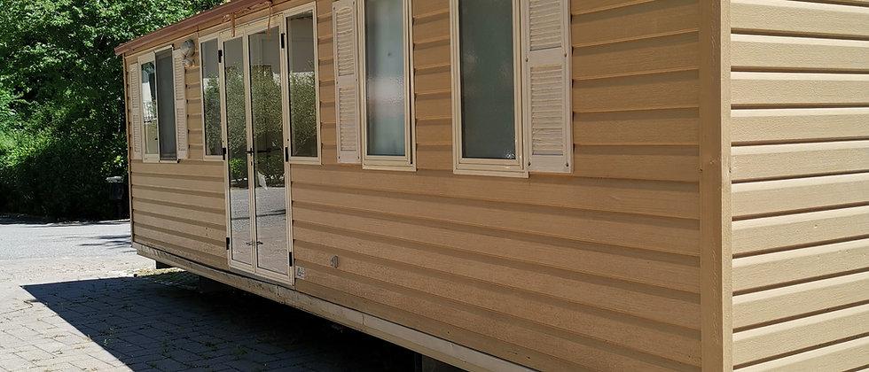 Shelbox LEONARDO 8.50*4.00 molto spaziosa e 3 camere da letto