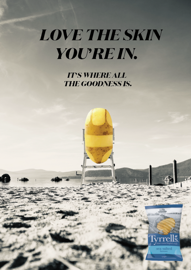 TYRRELLS PRINT AD