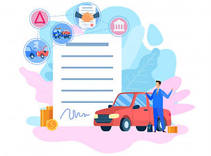 car-insurance-service-flat-vector-illust