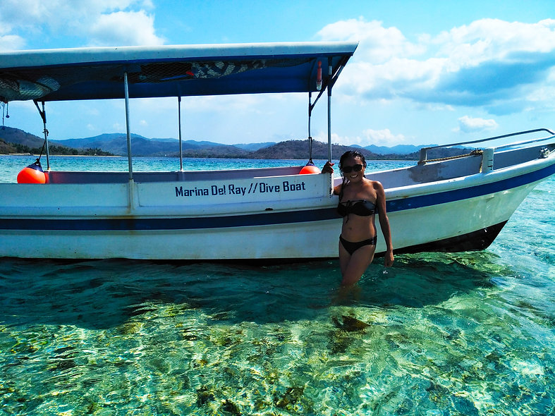 """4-Hour Motorboat Ride """"Intro to the Secret Gili Islands"""