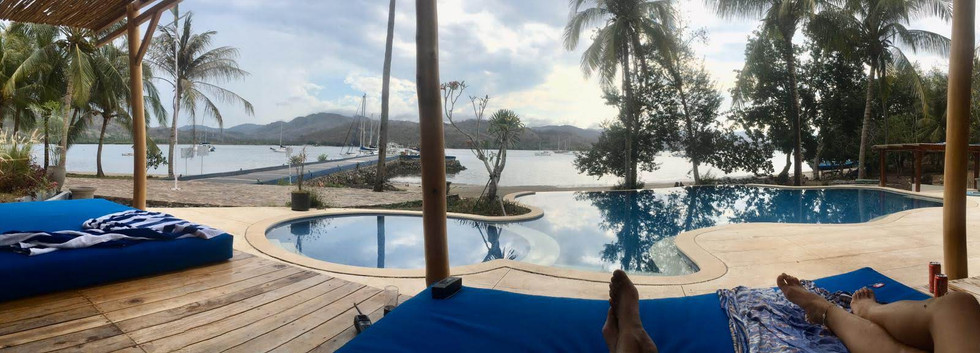 Pool Side Regatta Bar Marina Del Ray Bal