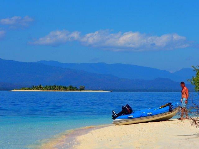 Indonesia Blue waters