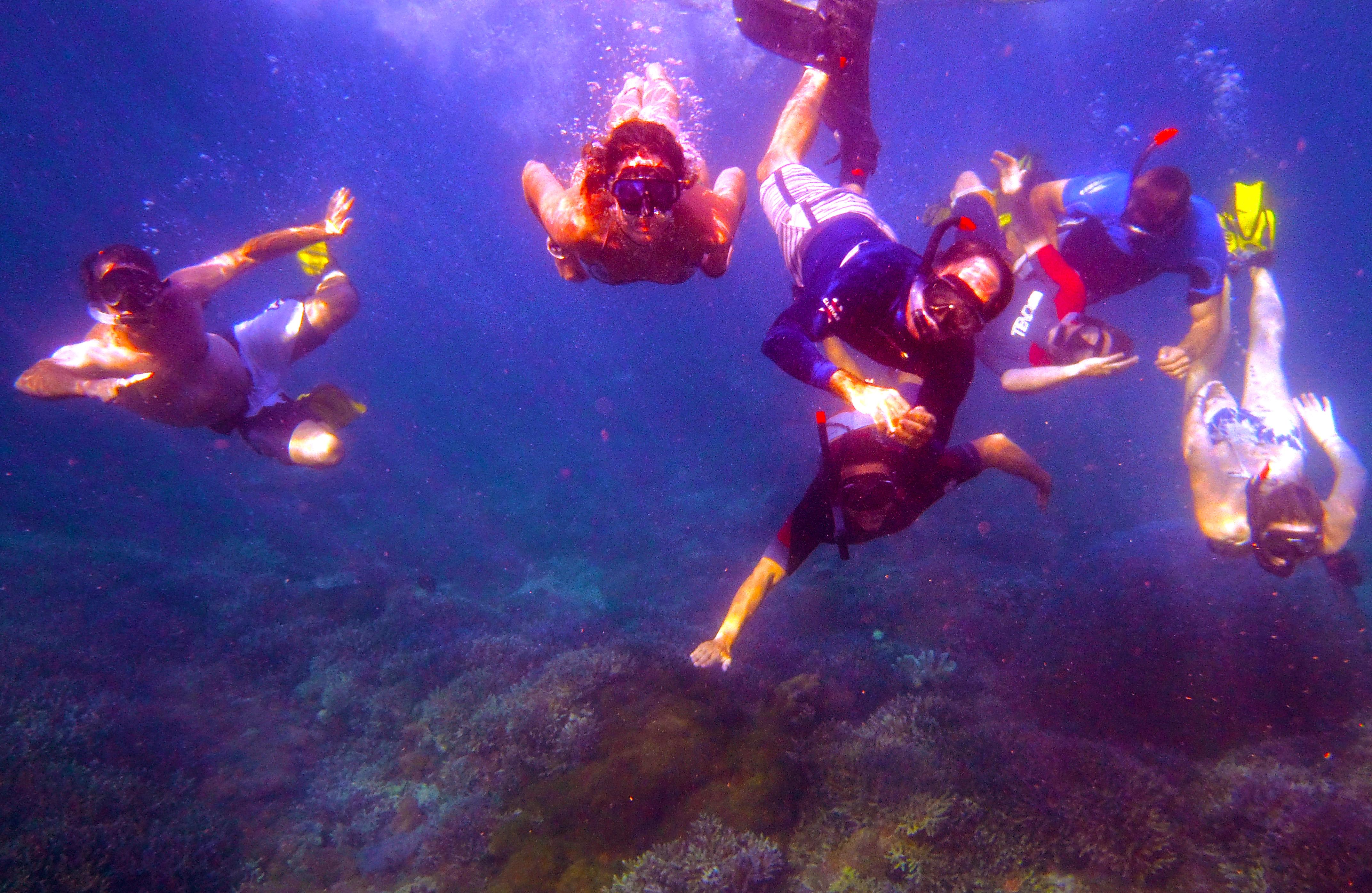 Snorkelling Gili Ashan