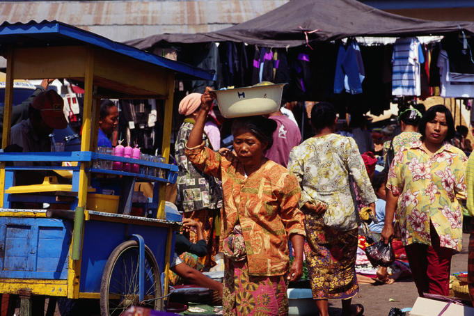 Local Market, Mataram