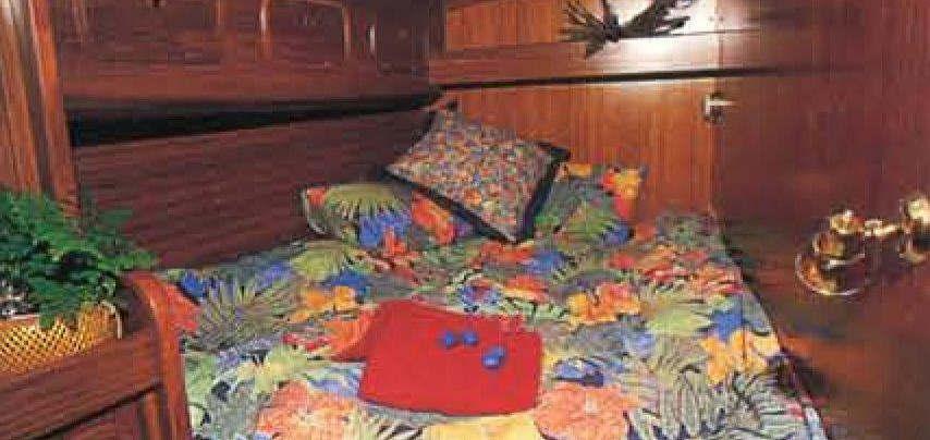 SV Basilea Inside Cabin