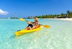 Double Canoe Sea Kyak Hire
