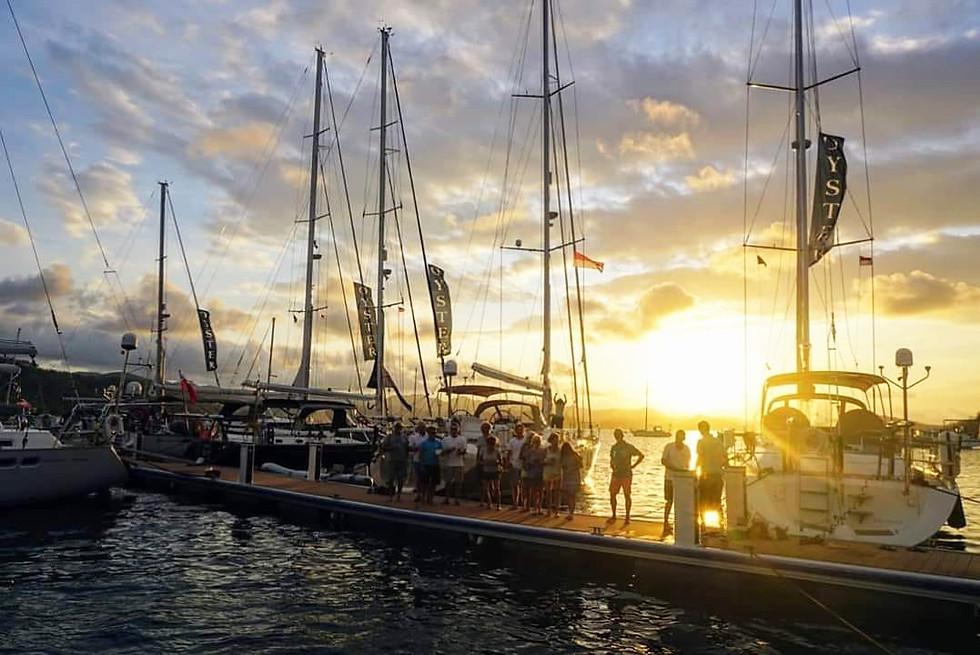 Dock Party Lombok Marina Del Ray Sunset