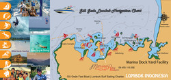 Map of the Secret Gili Islands