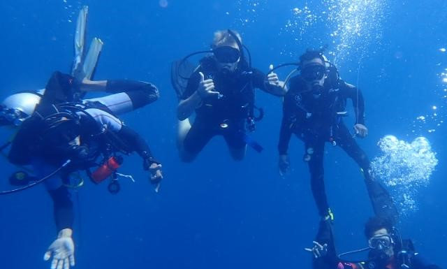 Intro Scuba Diving course