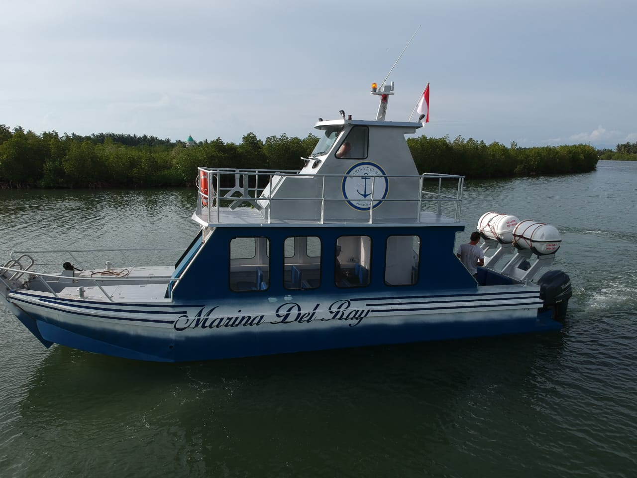 Ferry Service Bali to Marina Del Ray