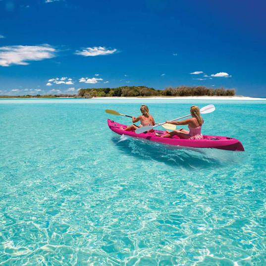 Hire a Canoe Gili islands Lombok Marina