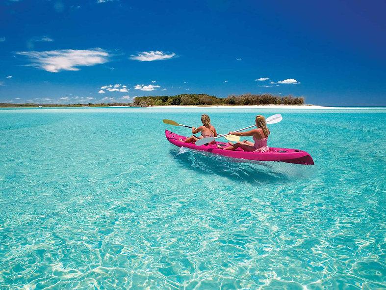 Canoe the Great Southern Gili Islands