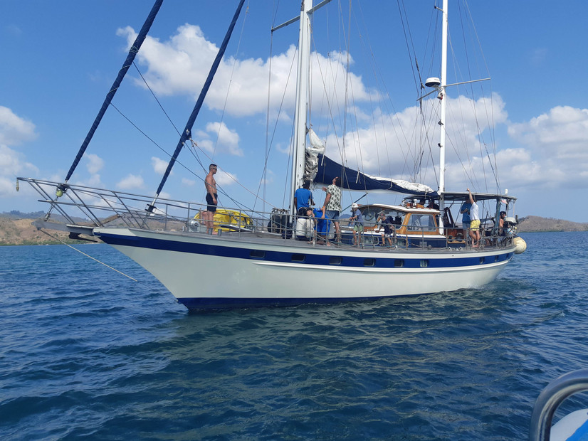 Hire our 46 Foot Traditional Ketch