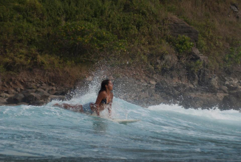 Surf Belongaggas South West Lombok
