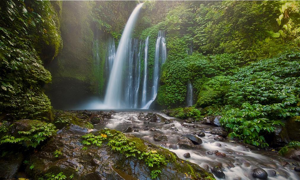 Lombok waterfall