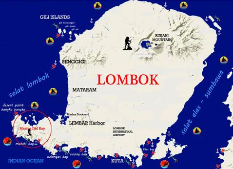 Lombok Island Cruising Guide
