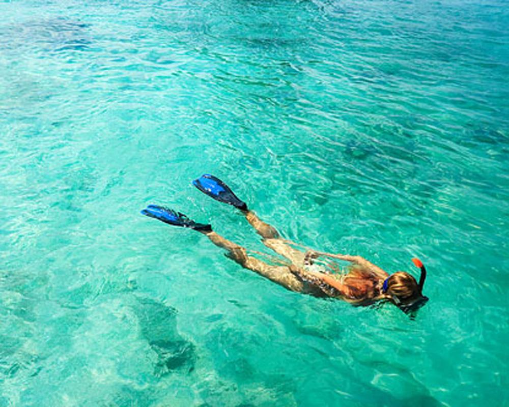 Snorkeling Northern Gili's