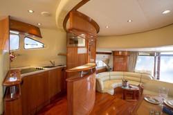 Inside a Indonesian Yacht charter