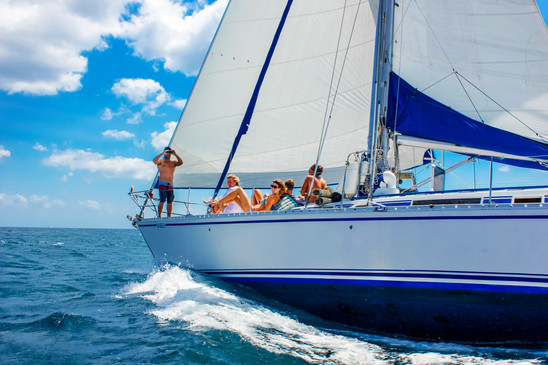 Charter our 55 Foot Luxury Beneteau