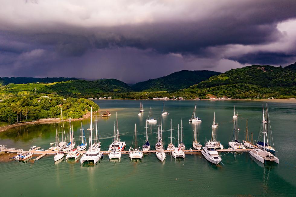 Marina Del Ray Storm approaches.JPG