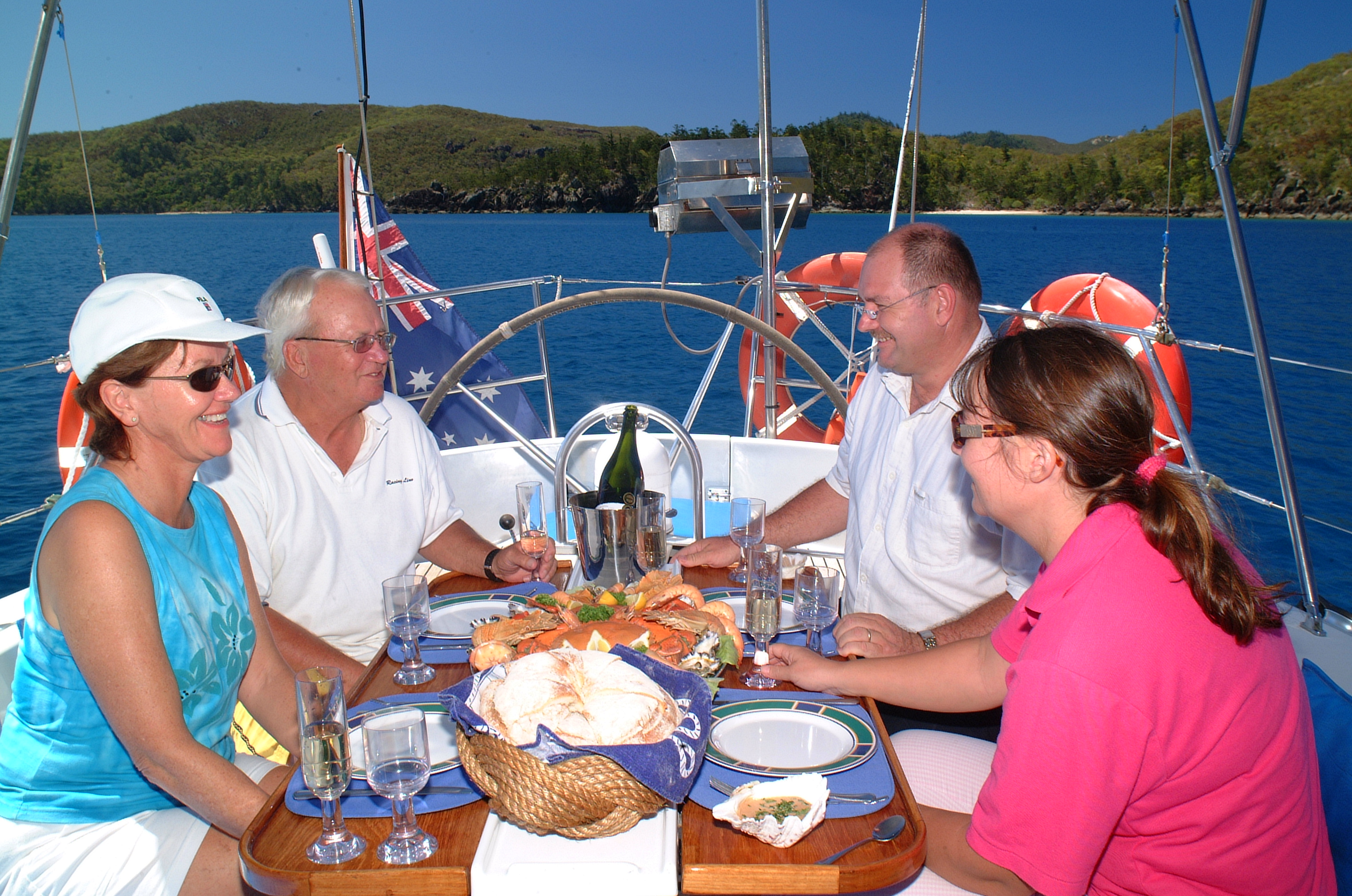 Indonesian Yacht Charter Dining