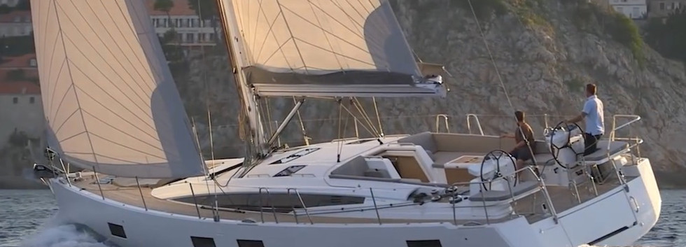 Jeanneau-54-under-sail Lombok Marina