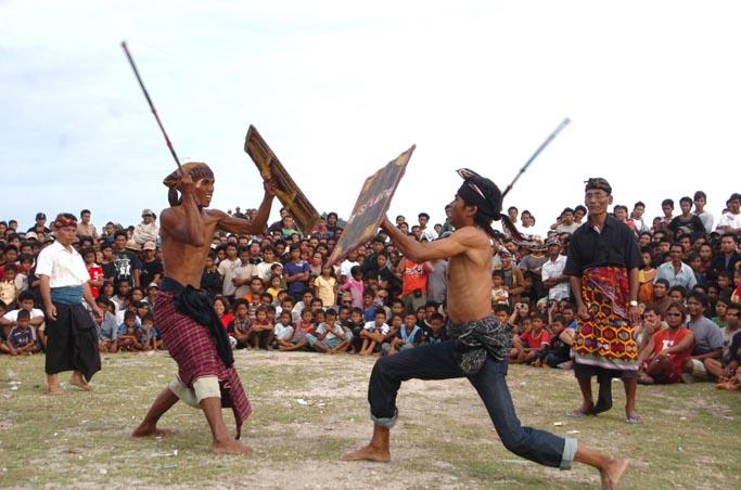 Stick Fighting, Lombok
