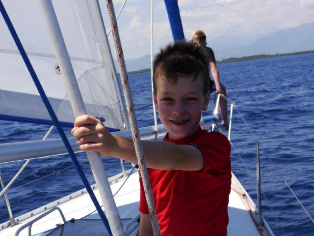 Kids Love Sailing