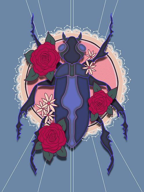 Lacy Rose Bug (Print)