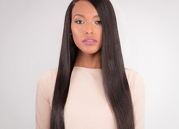 Full Lace Front Wig - Natural Straight
