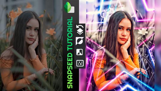 Tutorial Snapseed | Como editar fotos no celular | Adicionar e mesclar imagens, app gratuito Google