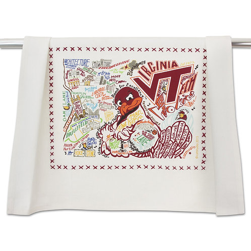 Virginia Tech Tea Towel