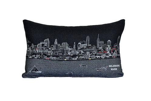 Philadelphia Prince Pillow; Night Version